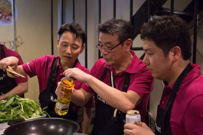 Go! Thai Cooking School: Team Building