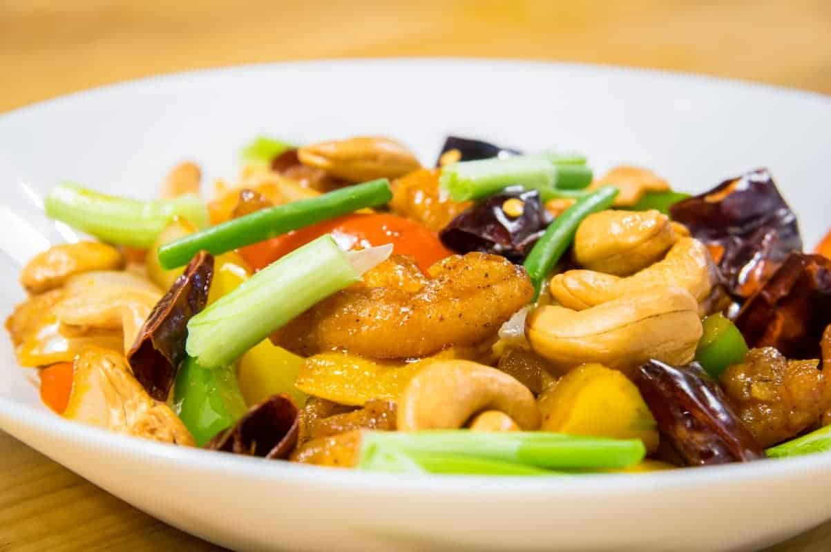 Dish 1 - Gai Pad Med Ma Muang (Chicken with Cashew Nuts)