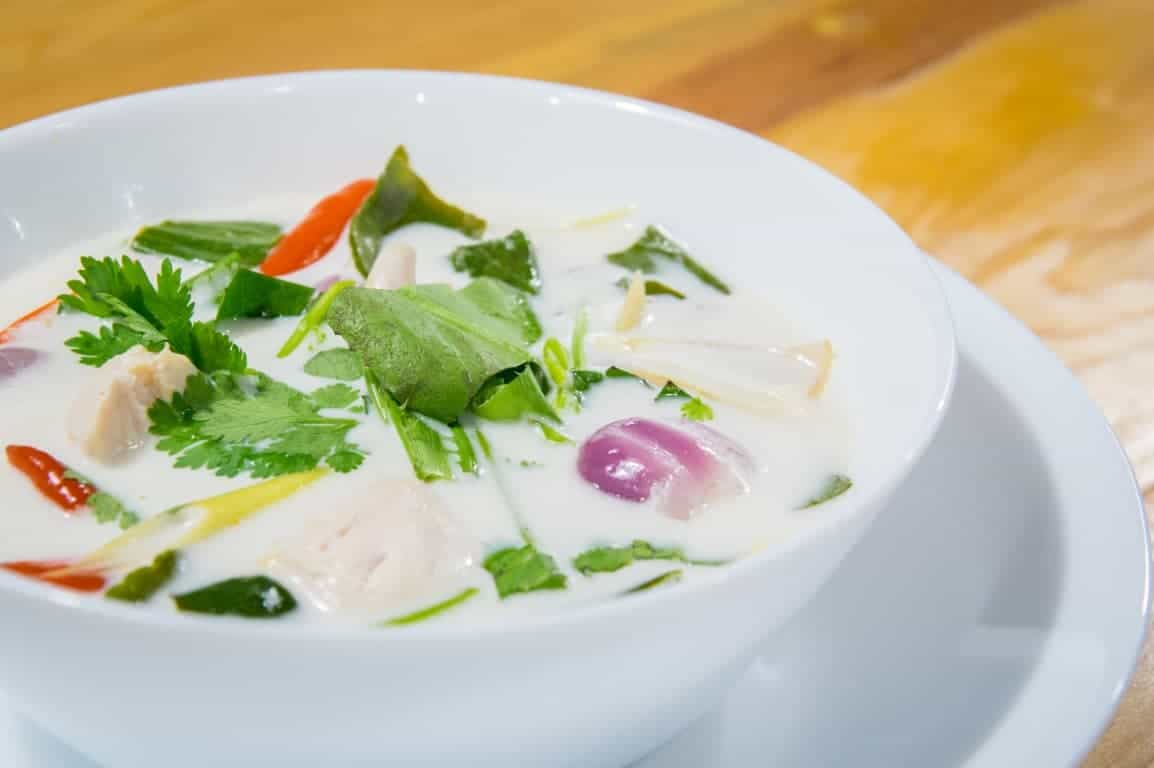 Dish 3 - Tom Kha Gai (Chicken in Coconut Soup)